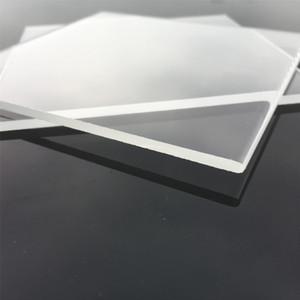 Alta Qualidade Industrial Quartzo Placa 105mm Quadrado De Quartzo Claro Placas 3mm De Espessura De Vidro De Quartzo Piezoid Folha para Muitos Usos