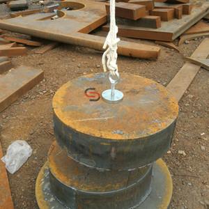 200KG neodímio Salvage Pesca Recuperação Detecção Magnet Pot D67 * 12 milímetros de metal Treasure Hunter Localizador Magnet Base de Montagem