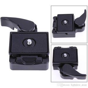 Lightdow Universal Quick Release Plate SLR DSLR Lente de la cámara Trípode Placa de sujeción Adaptador Trípode Monopods para trípode Tornillo de montaje
