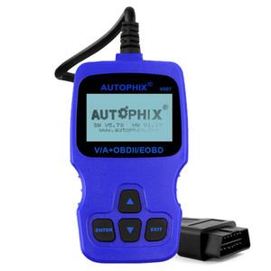 LINKOBD V007 Leitor de Código de Carro Do Motor ABS Airbag Transmissão Sistemas Completos Ferramenta de Verificação de Diagnóstico Para Au-di V-W Sko-da