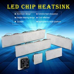 50 Вт 100 Вт 200 Вт 300 Вт 600 Вт алюминиевый радиатор радиатора с вентилятором светодиодный радиатор для светодиодного полного спектра growlight led aquarium light
