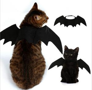 5 قطع مضحك القطط تأثيري حلي هالوين الخفافيش أجنحة القط الخفافيش زي صالح حزب الكلاب القطط لعب pet الملحقات أعلى جودة