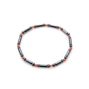 Ímã Tornozeleira de pedra colorida Magnetic Loss Therapy Pulseira Tornozeleira Peso jóias do produto Cuidados de Saúde Slimming vontade e do navio da gota de areia