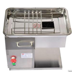 Kostenloser Versand QX Modell Desktop Fleischschneider 250 kg / hr Fleisch Schneiden macine
