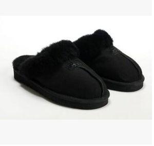 VENTA CALIENTE 2018 zapatillas de algodón caliente hombres y mujeres de los deslizadores de las mujeres botas de arranque botas de nieve de algodón de interior zapatillas Botas