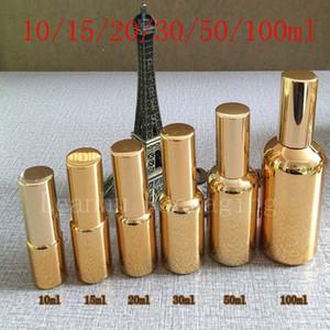 Goldleeres Make-upeinstellung-Spray-Parfüm-Glasflasche, Parfum-Frauen-Parfüm, Nebel-Sprüher-Parfüm-Glasparfüm-Flasche Großverkauf