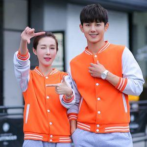 Personalizado hecho a los hombres y las mujeres usan béisbol capa ocasional amante del suéter con capucha de encargo para la primavera Outwear otoño