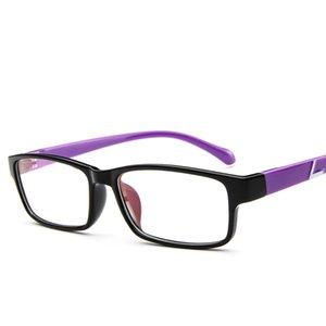 EYEWEAR Optische Gläser Rahmen Boston Typ Brillen Myopie Rahmen Frauen Klar Transparente Gläser Frauen Männer Blumenrahmen