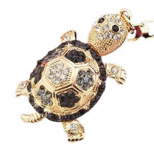 4 couleurs petite tortue porte-clés animaux porte-clés femmes bijoux accessoires sac pendentif porte-clés