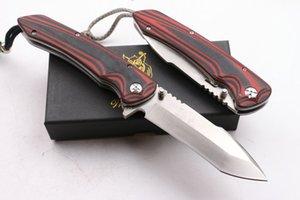 Herramientas de jabalí dragón rojo D2 supervivencia que acampa plegable del cuchillo del regalo del cuchillo al aire libre del OEM 1pcs Adco