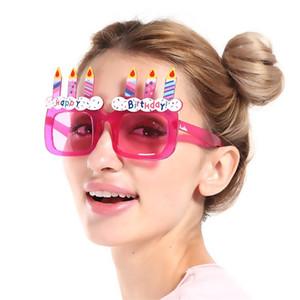 С Днем Рождения очки украшения партии поставки творческие смешные очки фотографии взять фото реквизит горячие продажи 6sf C