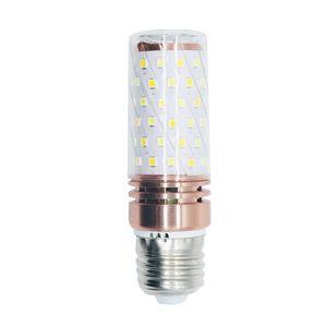 Edison2011 30шт 16W Сид 12W светодиодные свечи лампы двойной белый высокий люмен E14 Е27 120 Вт накаливания эквивалент канделябры светодиодные лампы