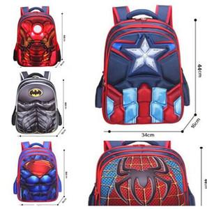 Çocuklar Sırt Çantaları Spiderman Superman çocuk schoolbag öğrenciler karikatür karakterler sırt çantası negatif çanta en kaliteli 3 boyutu