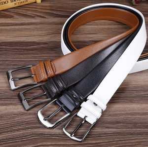 Free Shipping Top Quality 100% Leather Buckle Ladies Belt Fashion Business Belt Ms 1:1 Belt with Original Box