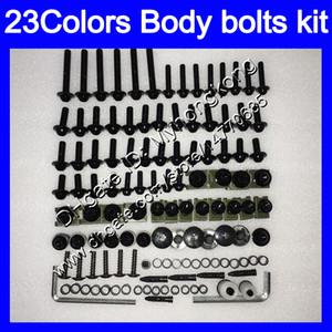 Carenagem parafusos kit parafuso completo para Honda CBR1000RR 04 05 06 07 CBR1000 RR CBR 1000 RR 2004 2005 2006 07 porcas do corpo parafusos parafuso porca 25Colors kit