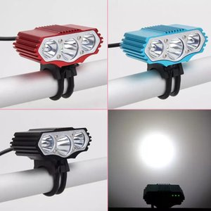 F3 강한 빛 USB 자전거 헤드 라이트 3T6 산악 자전거 충전식 강한 빛 LED 램프 전문 자전거 램프