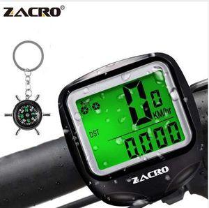 Zacro 1 Set 자전거 속도계 Bike Cycle 컴퓨터 무선 자전거 컴퓨터 자전거 Speed Bike Power Meter Cyclocomputer