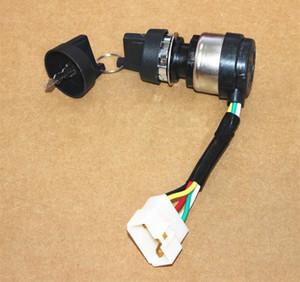 Interruptor de arranque para Yanmar L100 L90 5KW 6.5KW diesel 3KW timón eléctrico cerradura de la puerta kama kipor partes