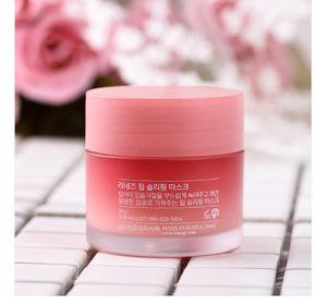 Migliore qualità!! LZ Special Care Lip Sleeping Mask balsamo per le labbra Rossetto Idratante Anti-Aging Anti-Rughe LZ Marca Lip Care cosmetico