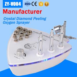 ¡Nuevo modelo llegando! 2 en 1 Diamond Dermabrasion Micro-crystal Dermabrasion Terapia Oxígeno Spray Jet Peel Máquina de belleza antiedad