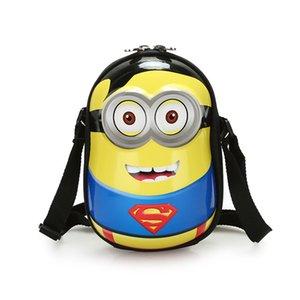 POESECHR crianças Meninas Ombro Messenger Bags Crianças bolsa do bebê dos desenhos animados 3D Bag