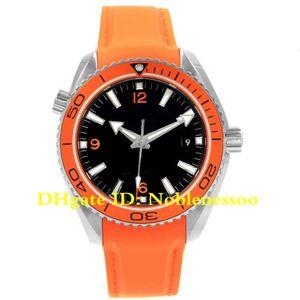 4 estilo lujoso reloj de alta calidad planeta oceánico coaxial 600m 42mm naranja 232.32.42.21.01.001 Asia 2813 Movimiento Relojes de relojes para hombre automático