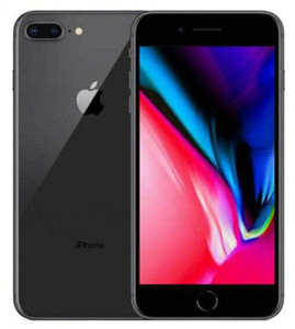 Original 100% apple iphone 8 8 plus com impressão digital 64 gb / 256 gb 12.0 mp ios 12 4.7 / 5.5 polegada telefone recondicionado
