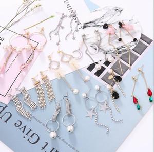20 Stile Mode Koreanische Perle Hoop Kristall Schmuck Ohrringe Charms Trending Hot Waren Schmuck Nickel Frei