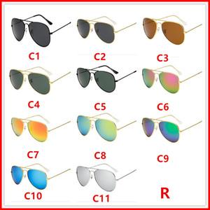 Hochwertige polarisierte linse pilot sonnenbrille für männer und frauen markendesigner vintage sport sonnenbrille mit fall und box 30255