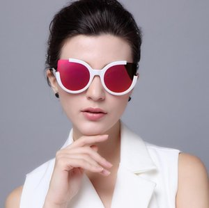 Fashion Polarized Cat Eyes Half Frame Sunglasses Women Sunglasses Trends Avant-garde Sunglasses Female HD Driving Glasses A636