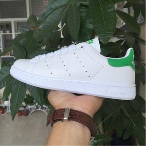 Высокое качество женщины мужчины новый Стэн обувь Мода Смит кроссовки повседневная кожа Спорт кроссовки обувь