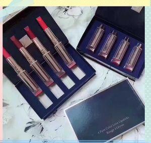 2018 Hot Famous Brand maquillage Lip Set 4 couleurs Pure Love Lipstick # 340 # 330 # 320 # 310 Rouge à lèvres 4 en 1 jeu