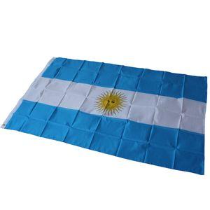 90cm x 150cm Argentinien Nationalflagge / 3ftx5ft Aregentina Fußballflaggen Banner Hängen Aktivität / Parade / Festival / Home Decor