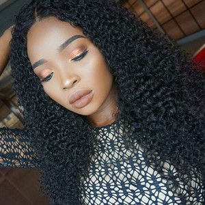 Pre Plucked Full Lace Human Hair Wigs With Baby Hair Brazilian Gluless Full Lace Wig Bleached Knots Curly Wig