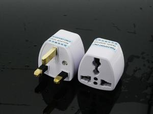Melhor Preço Universal UK US UA a UE Branco Europeu Charger Tomada Plug Power Adapter Viagem Converter