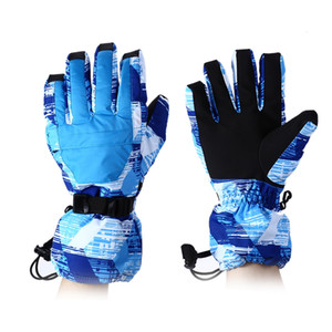 Ski Gloves with Water Resistant Windproof Warm Function Lightweight and durable, soft, flexible, comfortable and breathable