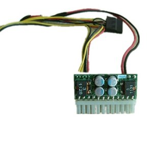 Ücretsiz Kargo Pico DC / ATX Güç kaynağı 12 V DC giriş 160 W Mini-itx Araba Endüstriyel Gömülü PC Medya Oynatıcı ve Tıbbi Cihaz ITXPSU, ITXPSUS