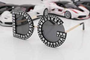 Gafas de sol del diseñador de los hombres populares del estilo de la manera G Pilot marco del vintage clásico Gafas de protección de la calidad superior UV400 con la caja original