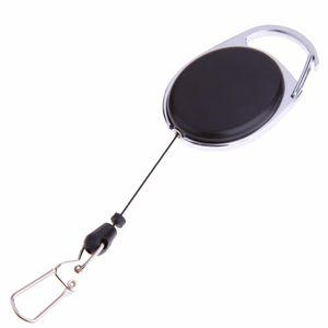 Outdoor Telescopico Wire Rope Key Antifurto Keychain Tactical EDC Retrattile Catena di Ritorno portachiavi Holder Camping Kit Da Viaggio SC144