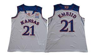 Mens Colegio camisetas de baloncesto económico desde casa negro, amarillo, blanco azul toda la fábrica mejor calidad del precio nombre cosido y el número S-XXL