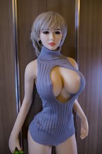 Vendita calda Bambole del sesso del silicone del culo grande 160cm Bambola giapponese di amore adulto del seno grande vagina vera figa Prodotto sexy per gli uomini