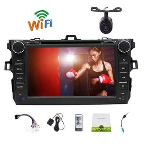 """7 """"Android 6.0 Marshmallow Doble 2 Din Estéreo del coche Navegación GPS Cabezal capacitivo Pantalla táctil del coche Reproductor de DVD Navi AM / FM Radio Bluetooth"""