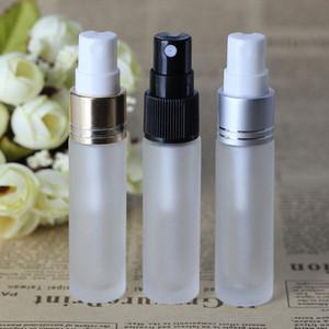 CHAUDE USA Grande-Bretagne 10ML verre vide avec contenants pulvérisateurs avec pompe Atomiseur, épais givré clair Mist Pulvérisateur pompe bouteilles pour l'huile de parfum