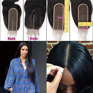 2x6 레이스 클로저 인간의 머리카락과 아기 머리카락 페루의 버진 인간의 머리카락은 블랙 여성 레이스 깊은 중간 부분은 번들로 무료