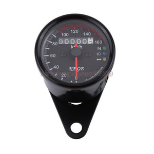 Motorcycle LED Digital Backlight Odometer Speedometer Gauge Cafe Racer