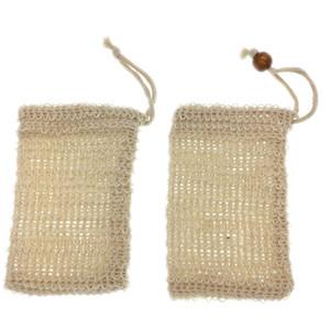 9 x14cm faire des bulles de savon Saver sac savon Pouch savon sac de rangement cordonnet Porte-Fournitures de bain