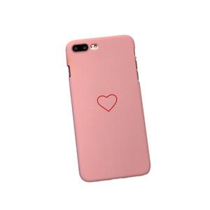Para a apple iphone7plus / 8plus magro bonito amor coração forma pc à prova de choque macio case capa (para iphone7plus / 8plus)