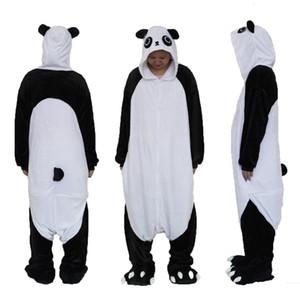Unisex adulto pijamas de peluche de una pieza Cosplay Animal Costume Cartoon Onesie