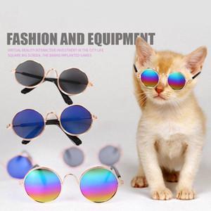 Sıcak Serin UV Koruma Köpek Kedi Pet Küçük Kedi Köpek Için Pet Gözlük Göz giyim Yavru Güneş Gözlüğü Fotoğrafları Prop Moda Freeshipping