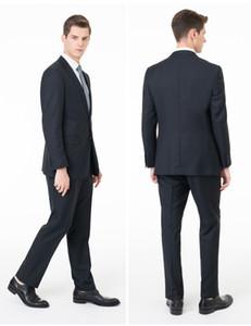 Custom Made smoking dello sposo Groomsmen smoking (Jacket + Pants) abiti da uomo vestito convenzionale per uomini lato sposa usura sfiato sposo economico ST0025